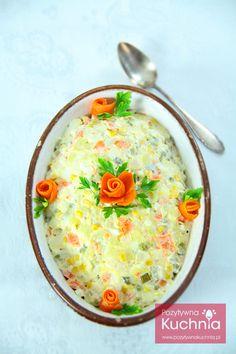 #salatka jarzynowa - klasyczny #przepis na sałatkę z warzyw  http://pozytywnakuchnia.pl/salatka-jarzynowa/  #kuchnia