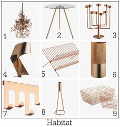 Copper crush - homeware ideas from Habitat