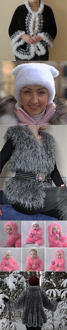 Вязание из травки спицами - Женский журнал LadySpecial.ru : специально для женщин