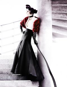 Fashiontography: Deauville Rendezvous by Mario Testino - British Vogue, September 2012