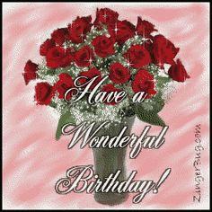Birthday Wishes For Sister, Happy Birthday Flower, Birthday Roses, Birthday Blessings, Saturday Greetings, Birthday Greetings, Birthday Cards, Happy Weekend, Happy Day
