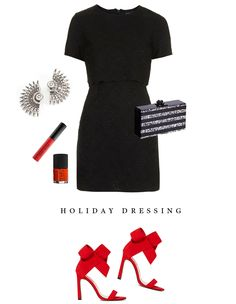 Outfit Inspiration • Holiday Dressing .