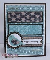 Cute use of bird builder punch. http://sarahhealey.stampinup.net to order.