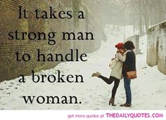 It Takes A Strong Man