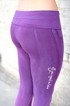 74bb017876bce organic yoga leggings, stirrup pants, ombré yoga pants, yoga leggins,  purple leggings