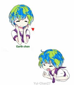 Earth-chan kawaii!!