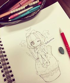 WIP O(≧∇≦)O I wanna do it digitally but I also really wanna colour it with…