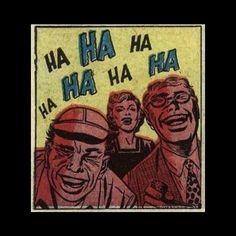 Hahaha  fuck off . #vintagecomics #randomcomics #hahaha by somevelvetmorningx