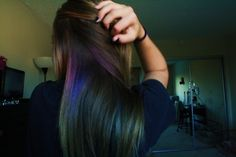 hidden colored highlights, love it!