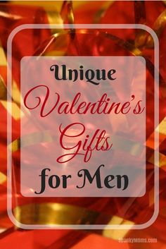 If you're ready to show your honey how special he is, here are unique Valentine's gifts for men.