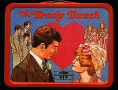 1960s Lunch Boxes | ... elementary school without a Brady Bunch lunch box (with thermos