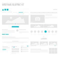 Wireframe / Blueprint Kit
