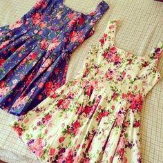 Gorgeous floral summer dresses