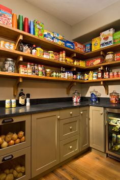 modern pantry by Witt Construction Amazing pantry