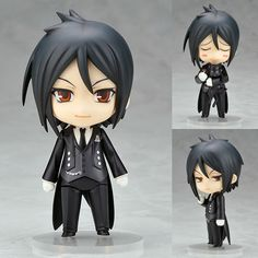 AmiAmi [Character & Hobby Shop] | Nendoroid - Black Butler: Sebastian Michaelis(Released)