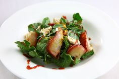 Rocket, Pear and Blue Cheese Salad