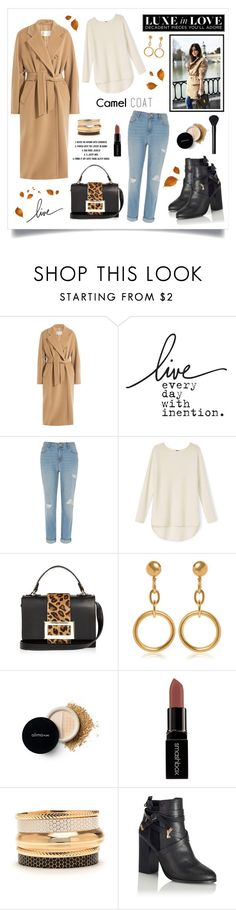 """Camel Coat!"" by diane1234 ❤ liked on Polyvore featuring MaxMara, River Island, Marni, Smashbox, Miss Selfridge and NARS Cosmetics"
