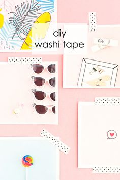 DIY Polka Dot Washi Tape - Maritza Lisa: Create your own washi tape with a polka dot pattern and Silhouette Studio