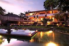 Villa Matisse by Bali Villa Rental Photo Gallery Thatched Roof, Colonial Architecture, Luxurious Bedrooms, Matisse, House Rooms, Swimming Pools, Bali, Photo Galleries, Beautiful Places