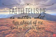 REDE MISSIONÁRIA: FAITH TELLS ME...