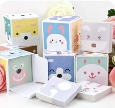 Min Order $20 (mixed order) Stationery boxed cartoon animal small memo pad  (FN) on AliExpress.com. 10% off $1.51