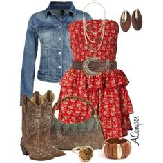 Country dresses plus size Country Style Outfits, Country Dresses, Country Fashion, Country Casual, Cowgirl Outfits, Cowgirl Style, Western Outfits, Cowgirl Boots, Gypsy Cowgirl