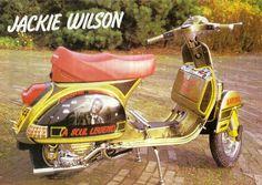 80's classic vespa. Jackie Wilson