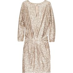 Paul & Joe Sequin embellished dress  NET-A-PORTER.COM (€635) found on Polyvore