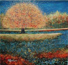 Jewel River tapestry - Fruit & Floral
