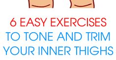 You can tone your inner thighs with specific exercises and dietary changes that will target full body weight loss.