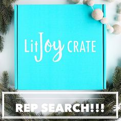 ❄️ WINTER REP SEARCH! ❄️ We are so excited to be hosting another rep search! It's hard to believe that it's already been three months 😱. All our past reps have been so fantastic to work with and have made it so worth it to continue to have LitJoy reps!  We will select  8 YA reps  and  2-4 Picture Crate reps  to receive 3 months of LitJoy Crates (January, February, March). We will also pick several one-time reps who will receive 1 crate this quarter! Reminder: ALL PAST REPS can enter to be a…