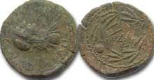 Монеты Боспора - Савромат I , Систерций