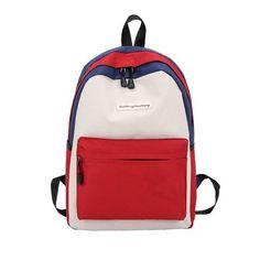backpack female school bags for girl nylon backpack High school Large  Capacity Patchwork back pack women bag Bagpack mochila e4cc2c305a4a6