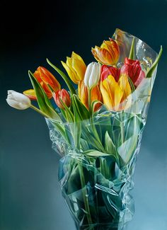 Tulpen in Plastic II, Tjalf Sparnaay