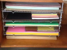 Had A Hard Time Finding A Rack For My Large Construction Paper That Was Not  As