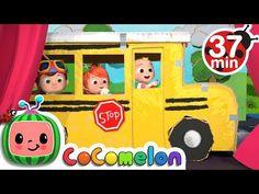 Wheels on the Bus (Play Version) + More Nursery Rhymes & Kids Songs - CoComelon Nursery Rhymes In English, Nursery Rhymes Songs, Birthday Songs, Happy Birthday Me, Clean Up Song, Name Songs, Phonics Song, Sing Along Songs, Wheels On The Bus