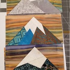 Paper Pieced Quilt Patterns, Quilt Block Patterns, Pattern Blocks, Quilt Blocks, Paper Peicing Patterns, Patchwork Cards, Tree Quilt, Foundation Paper Piecing, Quilting Projects