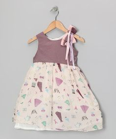 This Bonny Billy Purple Party Gingham Dress - Toddler & Girls by Bonny Billy is perfect! #zulilyfinds