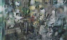 Untitled, 2009 oil on canvas 180 x 300 cm