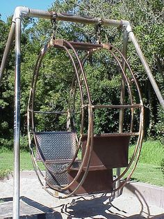 playground - special swing - San Francisco - vintage