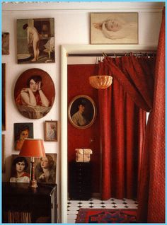 Portrait wall (from Living With the Things we Love)