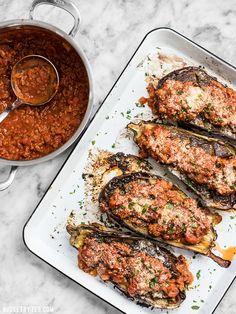 Roasted Eggplant wit