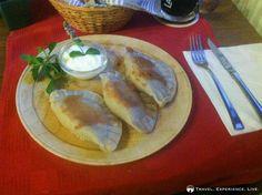 Slovenian Food: Cheese dumplings, Bohinj