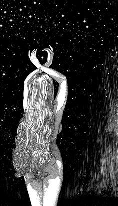 Illustrations By Apollonia Saintclair That Awaken Your Darkest Desires Art Spiritual Art, Illustration, Art Drawings, Drawings, Fantasy Art, Art, Art Wallpaper, Beautiful Art, Aesthetic Art
