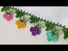 YouTube Crochet Faces, Free Crochet, Baby Knitting Patterns, Crochet Patterns, Spiral Crochet, Project Free, Crochet For Beginners, Crochet Doilies, Machine Embroidery Designs