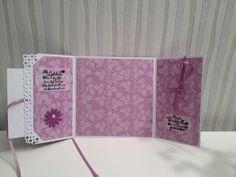 Konfirmasjonskort - innside I Card, Projects, Log Projects, Blue Prints