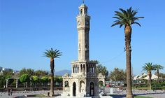 İzmir's stunning clock tower stands out as a marvelous example of Neoclassical Ottoman architecture.