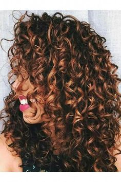 40e54049d Strategies For curly hair #curlyhair Balayage, Shatush, Riflessi Dei Capelli  Grigi, Capelli