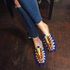 Olena slippers by Anita Quansah London