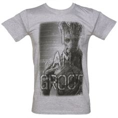 I am Groot Grey Tee